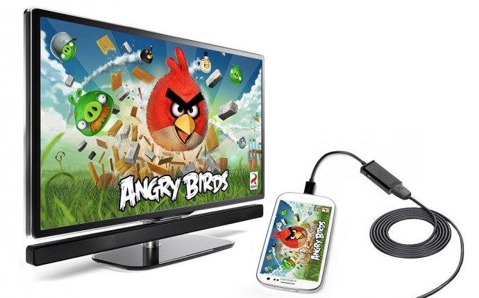 Кабель-переходник с micro USB на HDMI