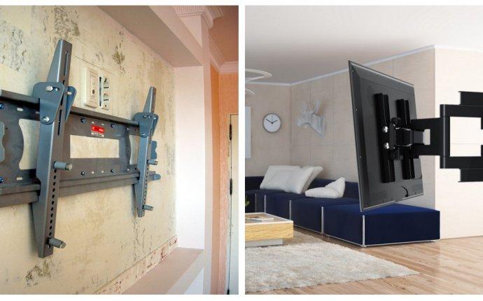 Как прикрепить телевизор к стене из гипсокартона своими руками?