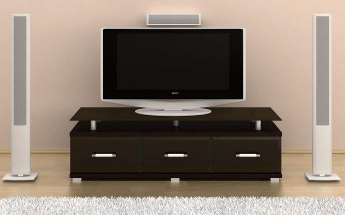 Как сделать тумбу под телевизор