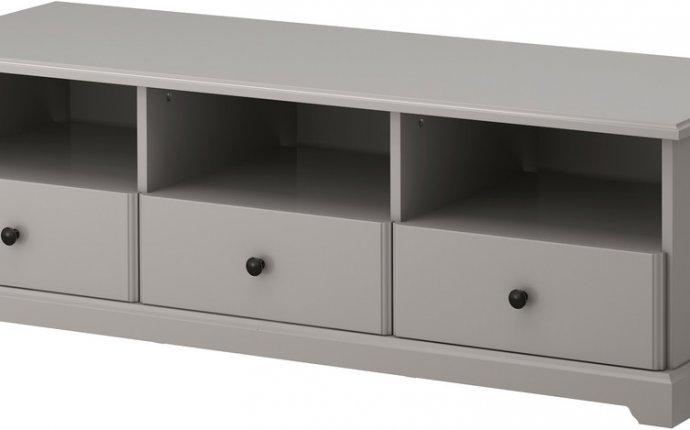 Купить тумбы под ТВ IKEA Лиаторп Серая 102.693.66 купить в Тюмени