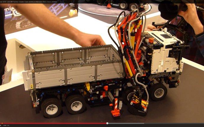 первый Lego technic