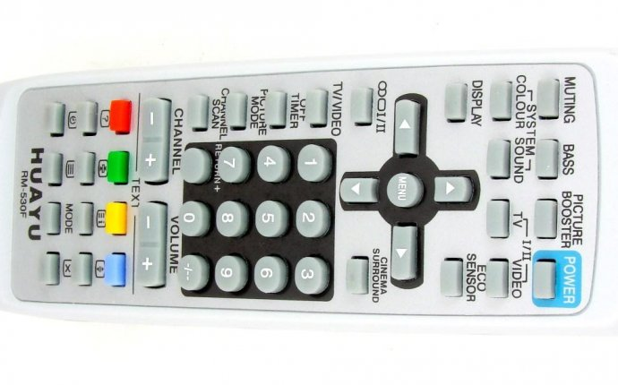 Пульт для телевизора JVC (HUAYU) RM-530F универсальный