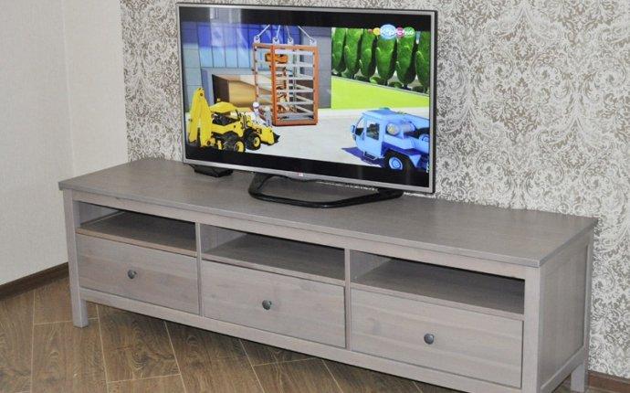 Тумба под ТВ IKEA Hemnes (ИКЕА Хемнэс) - «Тумба с функционалом